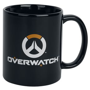Overwatch Logo Mug noir