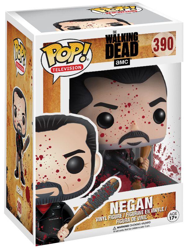 Image of   The Walking Dead Negan (Bloody Version) Vinyl Figure 390 Samlefigur Standard