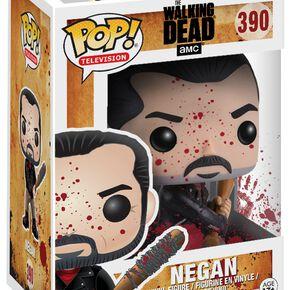The Walking Dead Figurine En Vinyle Negan (Version Sanglante) 390 Figurine de collection Standard