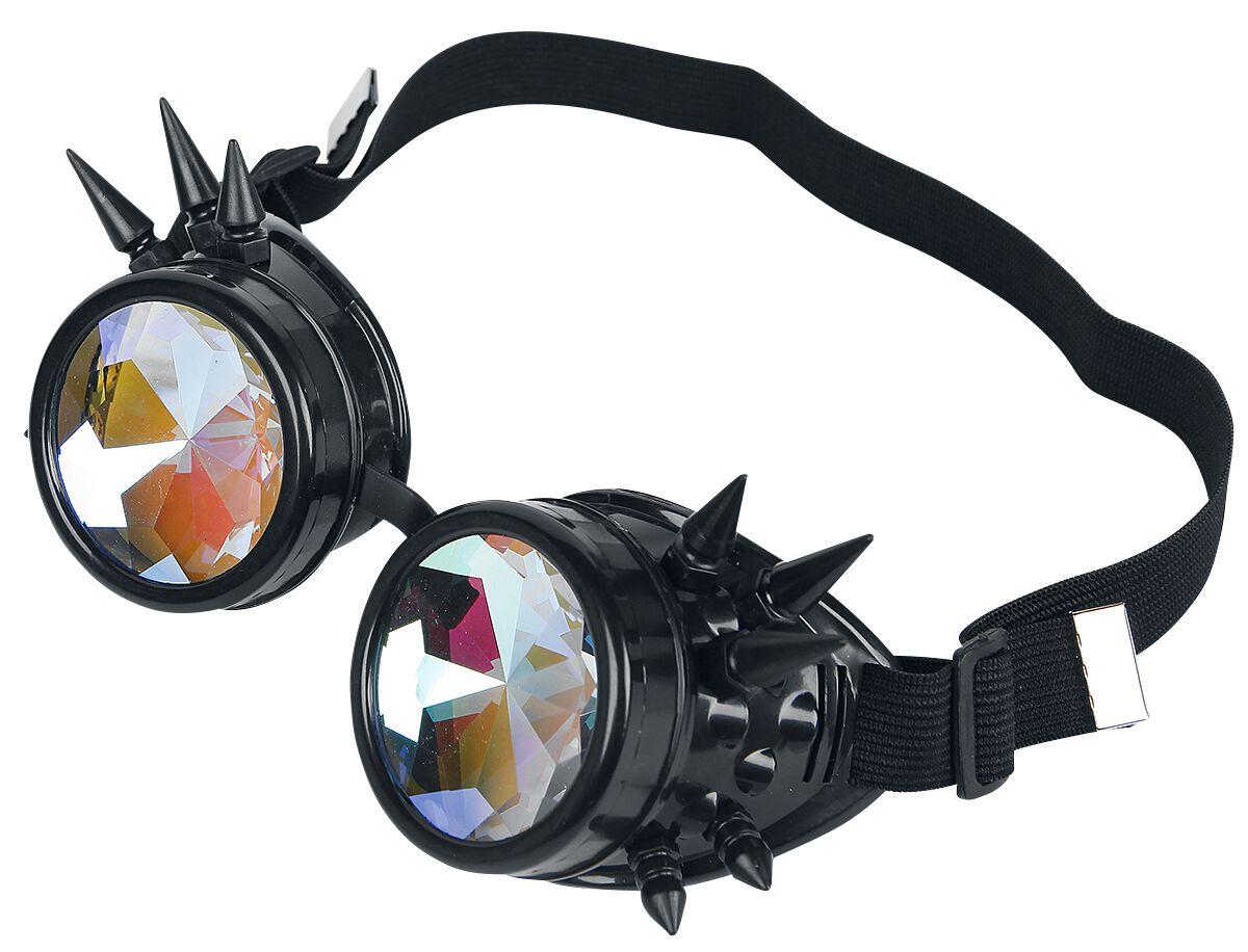 Marki - Okulary - Okulary Zoelibat Rainbow Cyber Goggles Okulary czarny/wielokolorowy - 350637