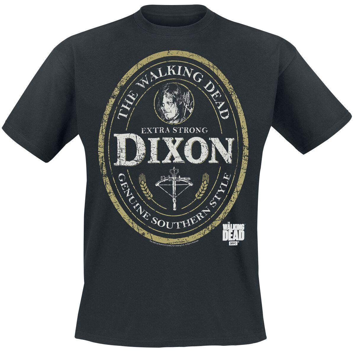 Image of   The Walking Dead Daryl Dixon Label T-Shirt sort