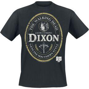 The Walking Dead Daryl Dixon Label T-shirt noir
