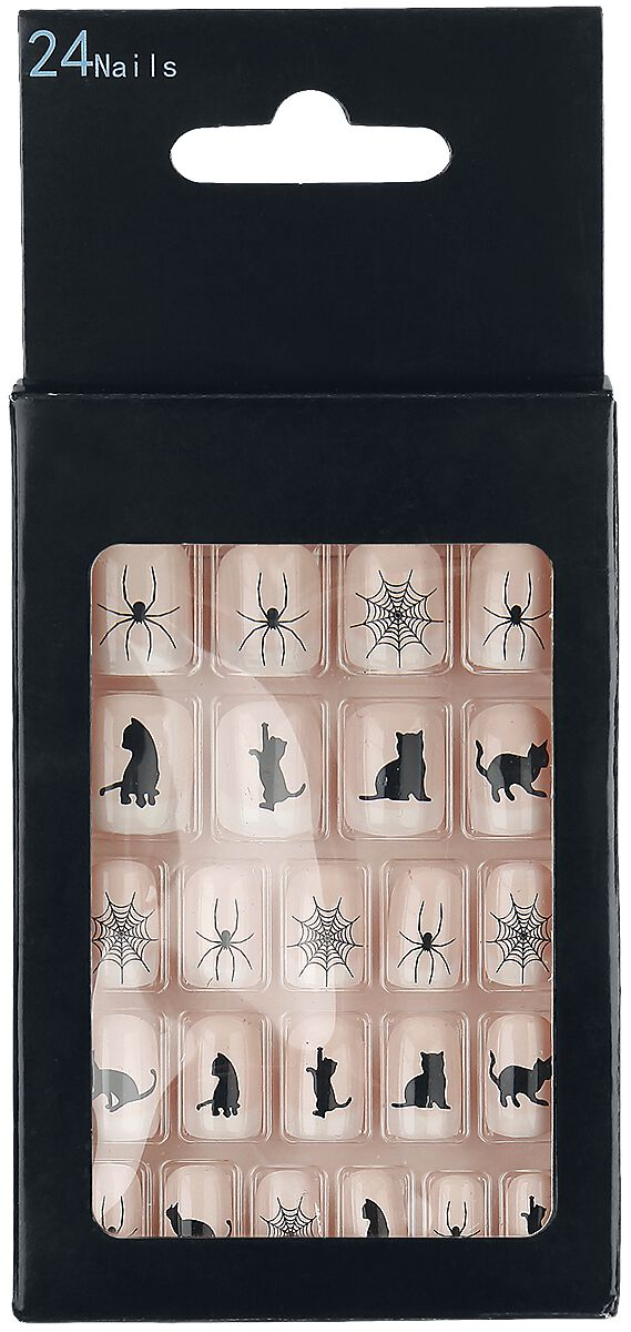 Marki - Kosmetyki - Sztuczne paznokcie Zoelibat Cats and Spiders Sztuczne paznokcie naturalny - 350671