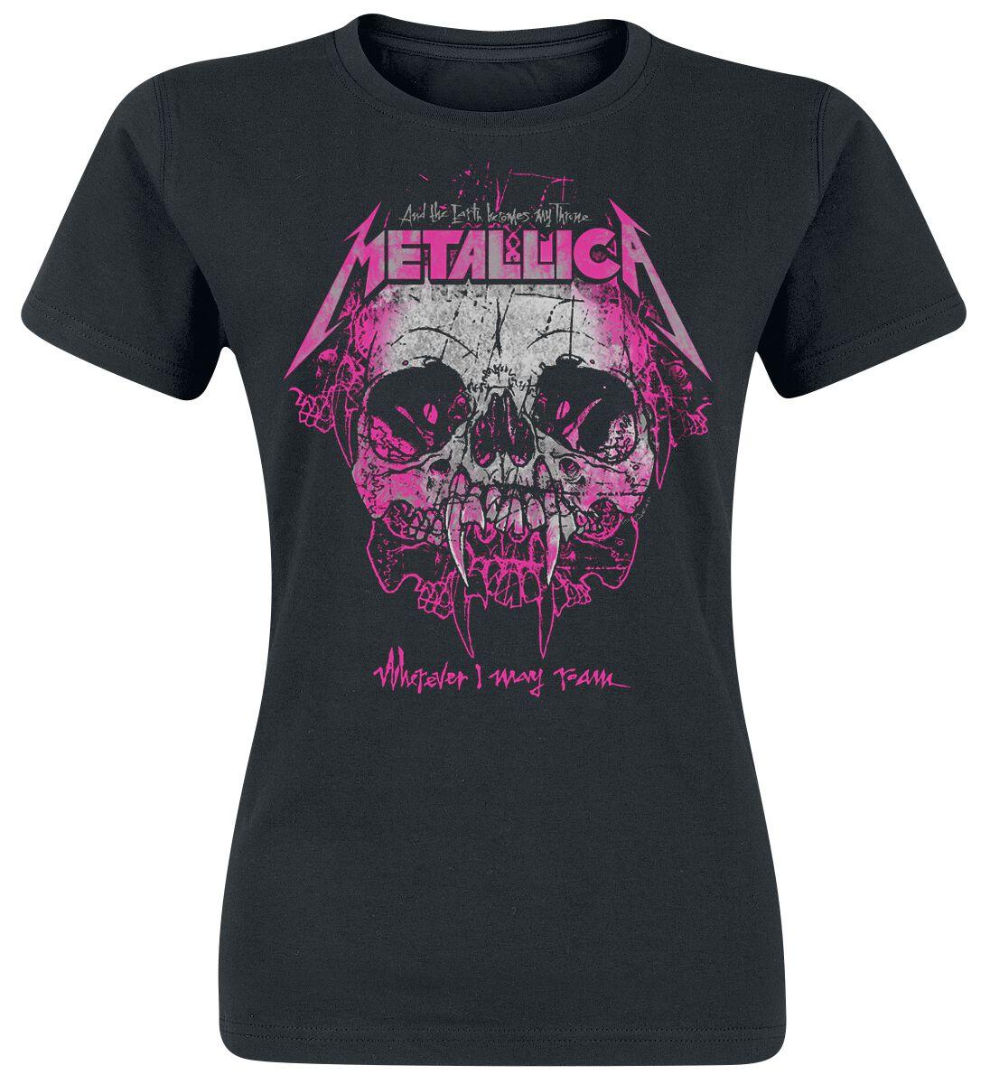Metallica Wherever I May Roam - Frauen - schwarz