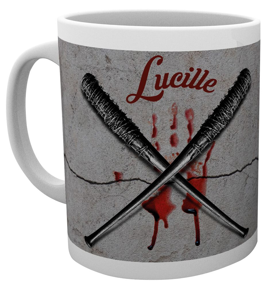 Image of   The Walking Dead Lucille Krus hvid