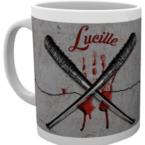The Walking Dead Lucille Mug blanc
