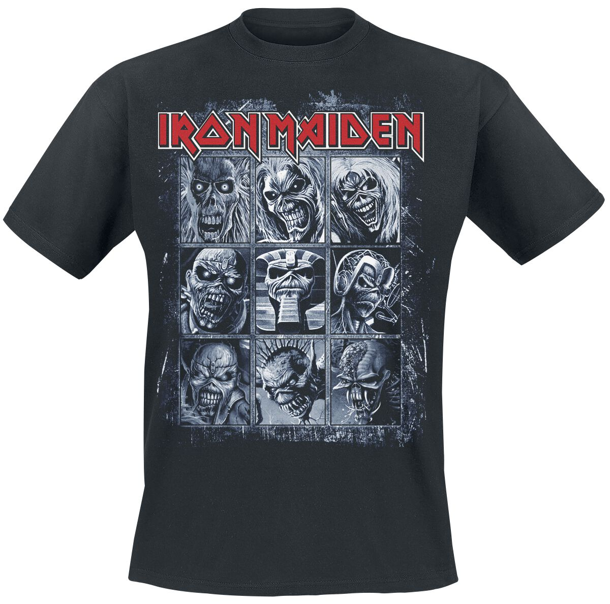 Image of   Iron Maiden Nine Eddies T-Shirt sort