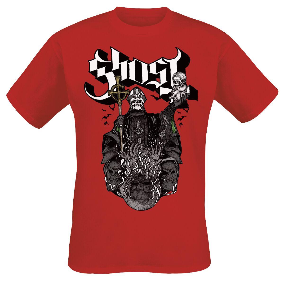 Zespoły - Koszulki - T-Shirt Ghost Chalice T-Shirt czerwony - 350895