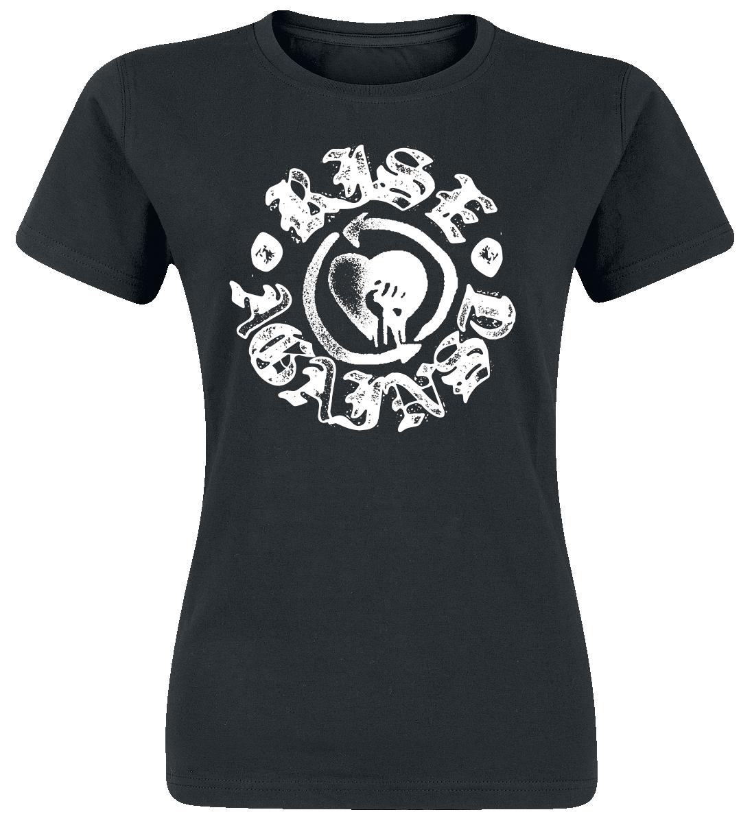 Rise Against Fist Stamp Koszulka damska czarny