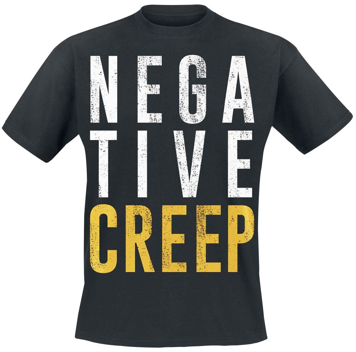 Zespoły - Koszulki - T-Shirt Nirvana Negative Creep T-Shirt czarny - 350915