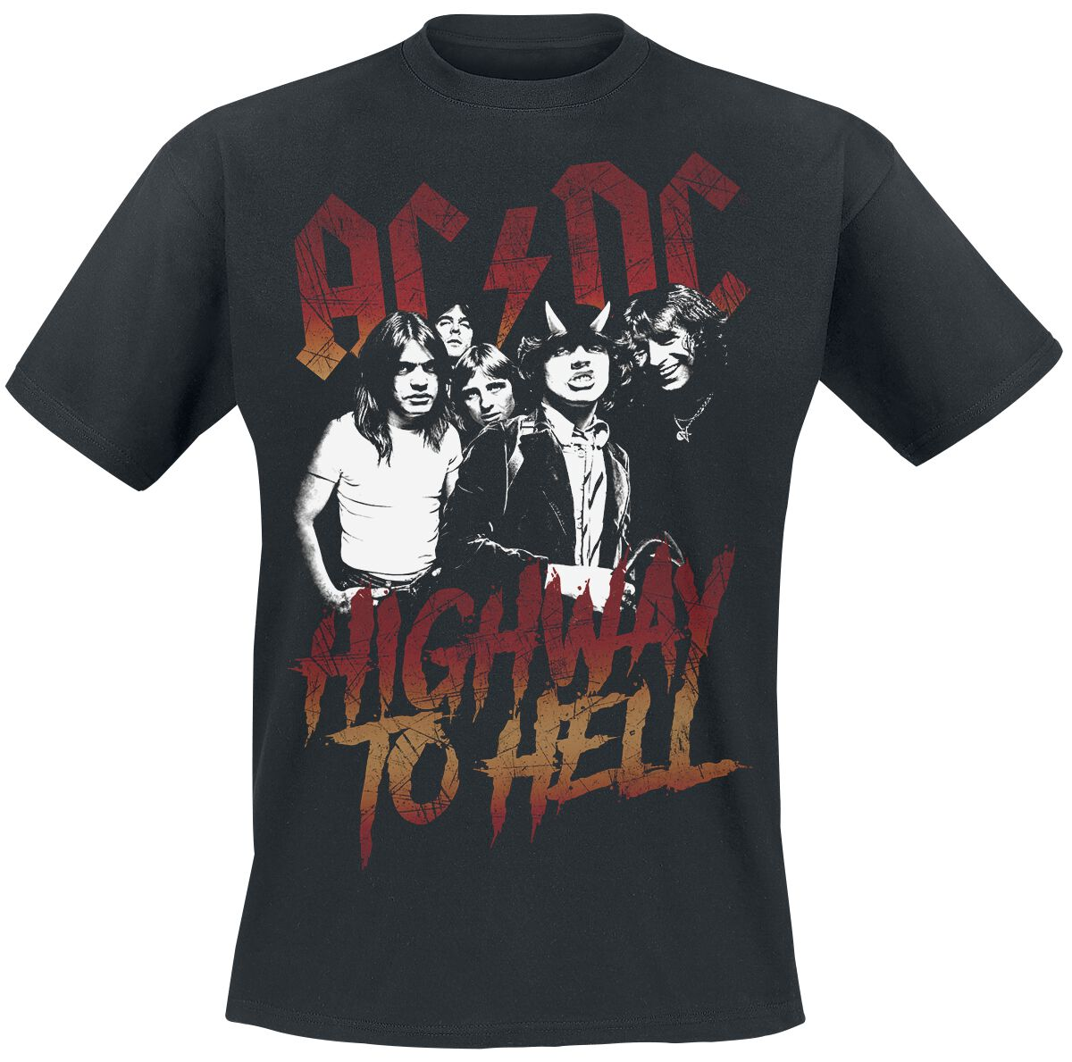 Image of   AC/DC Highway To Hell T-Shirt sort