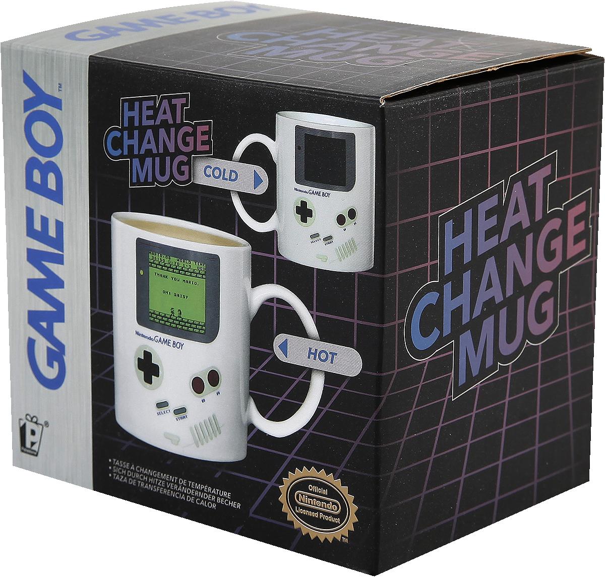 Nintendo Game Boy - Heat Change Mug Krus multifarvet