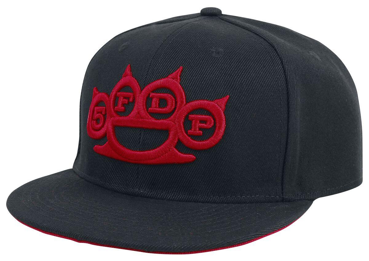 Image of   Five Finger Death Punch Logo Snapback Cap sort
