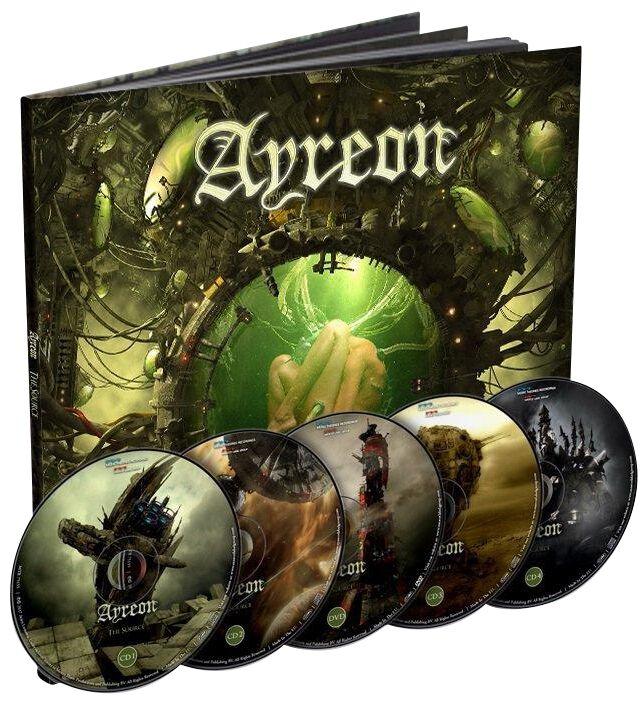 Ayreon The source 4-CD & DVD Standard