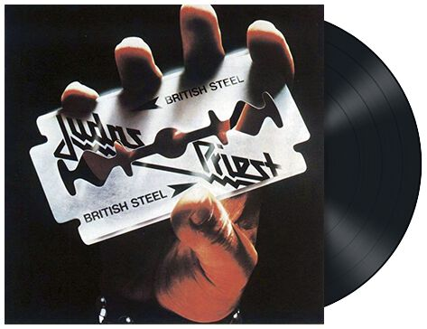 Image of   Judas Priest British Steel LP standard