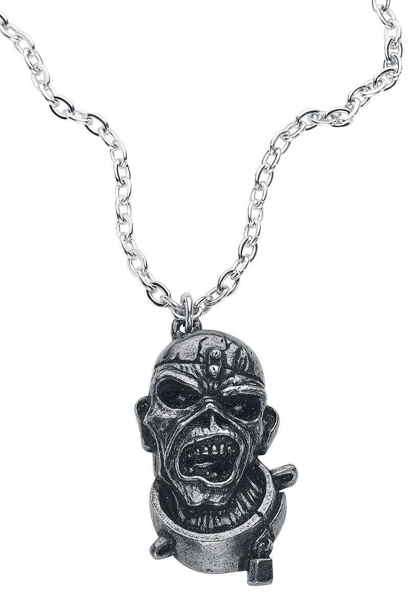 Iron Maiden Piece Of Mind Halskette silberfarben PP504