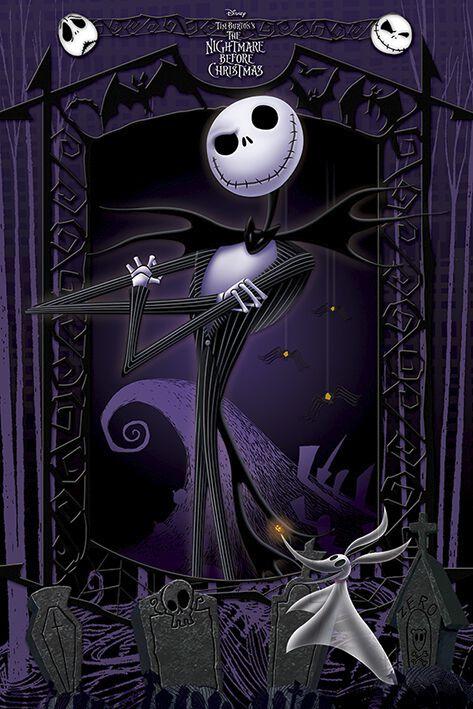 Image of   The Nightmare Before Christmas It's Jack Plakat multifarvet