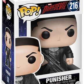 Figurine Pop! Punisher Daredevil ou Variante Chase