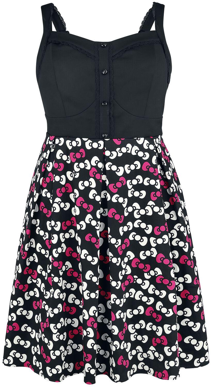 Merch dla Fanów - Sukienki - Sukienka Hello Kitty Bow Toss Sukienka wielokolorowy - 351145