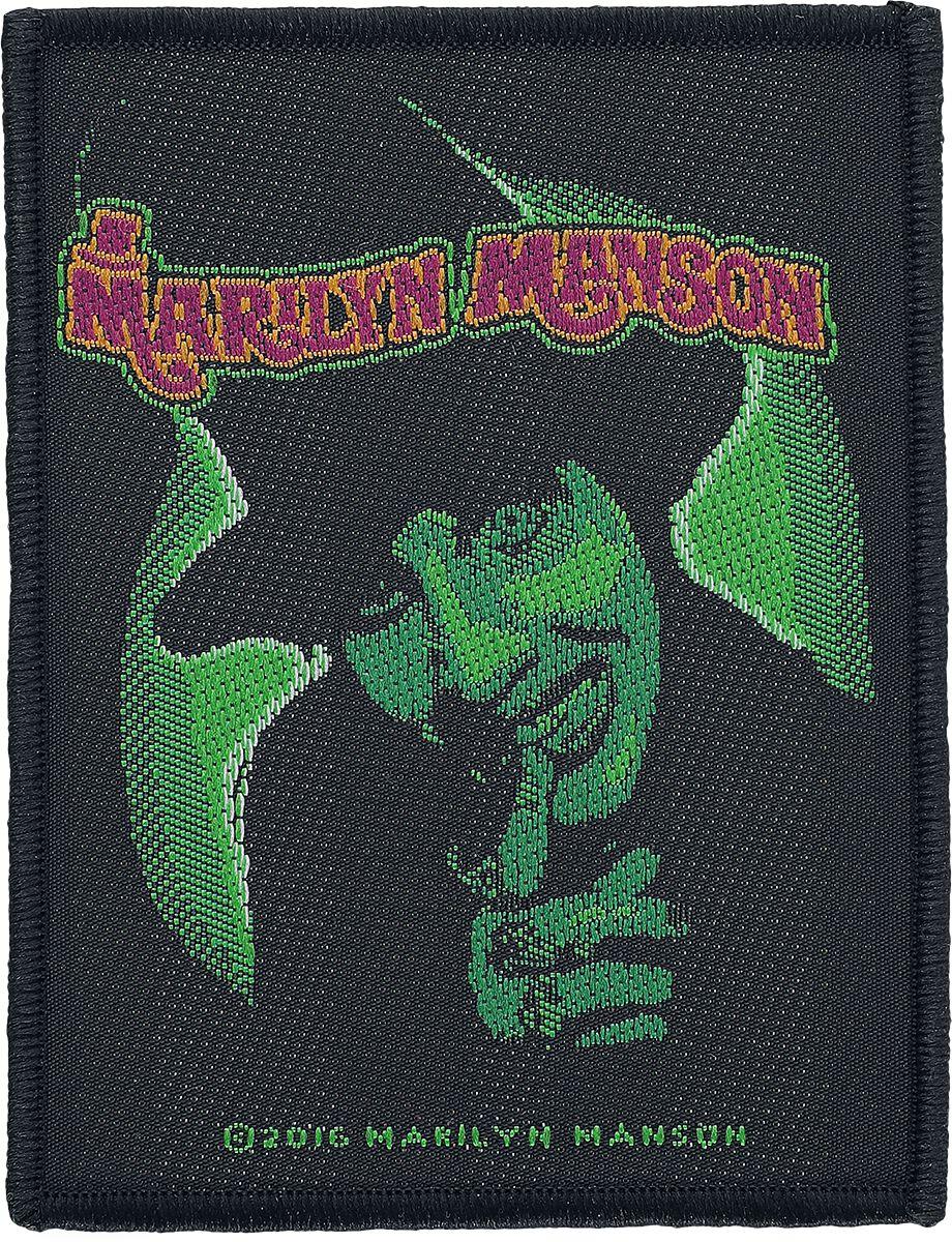 Zespoły - Naszywki - Naszywka Marilyn Manson Smells like children Naszywka czarny - 351174