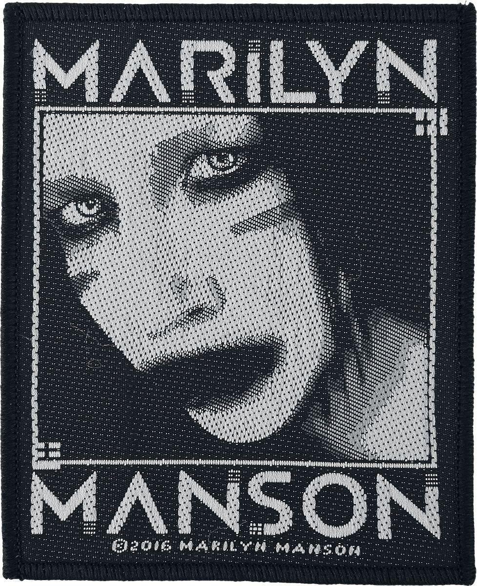 Zespoły - Naszywki - Naszywka Marilyn Manson Villain Naszywka czarny - 351175