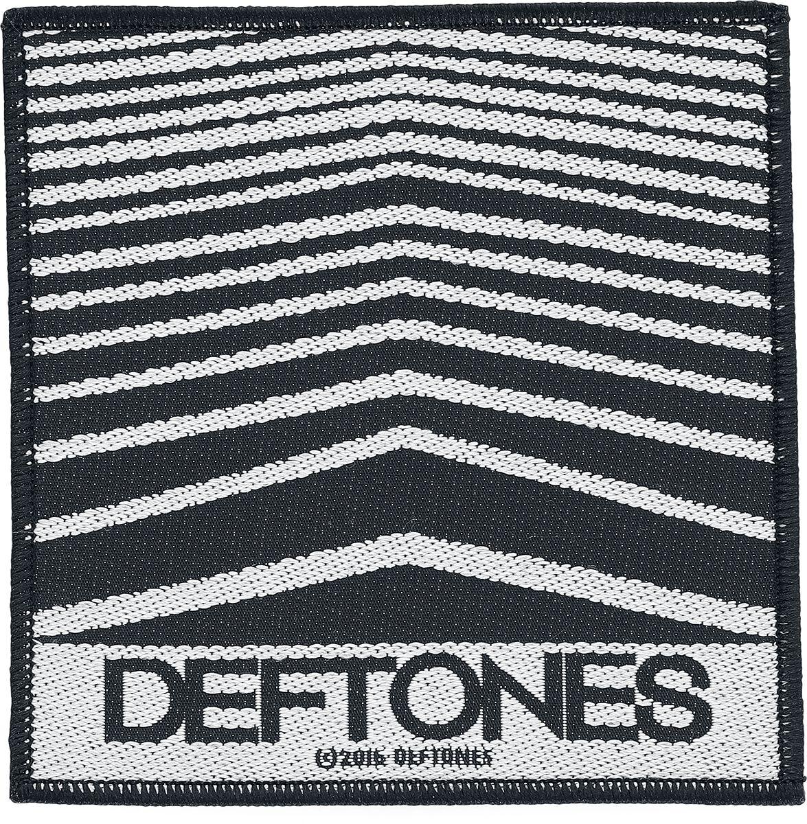 Zespoły - Naszywki - Naszywka Deftones Abstract Lines Naszywka czarny/biały - 351177
