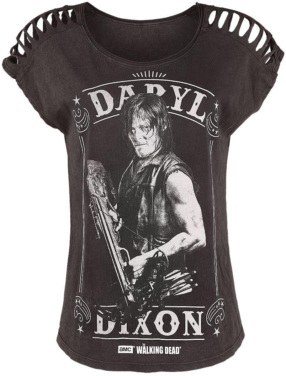 Image of   The Walking Dead Daryl Dixon Girlie trøje brun