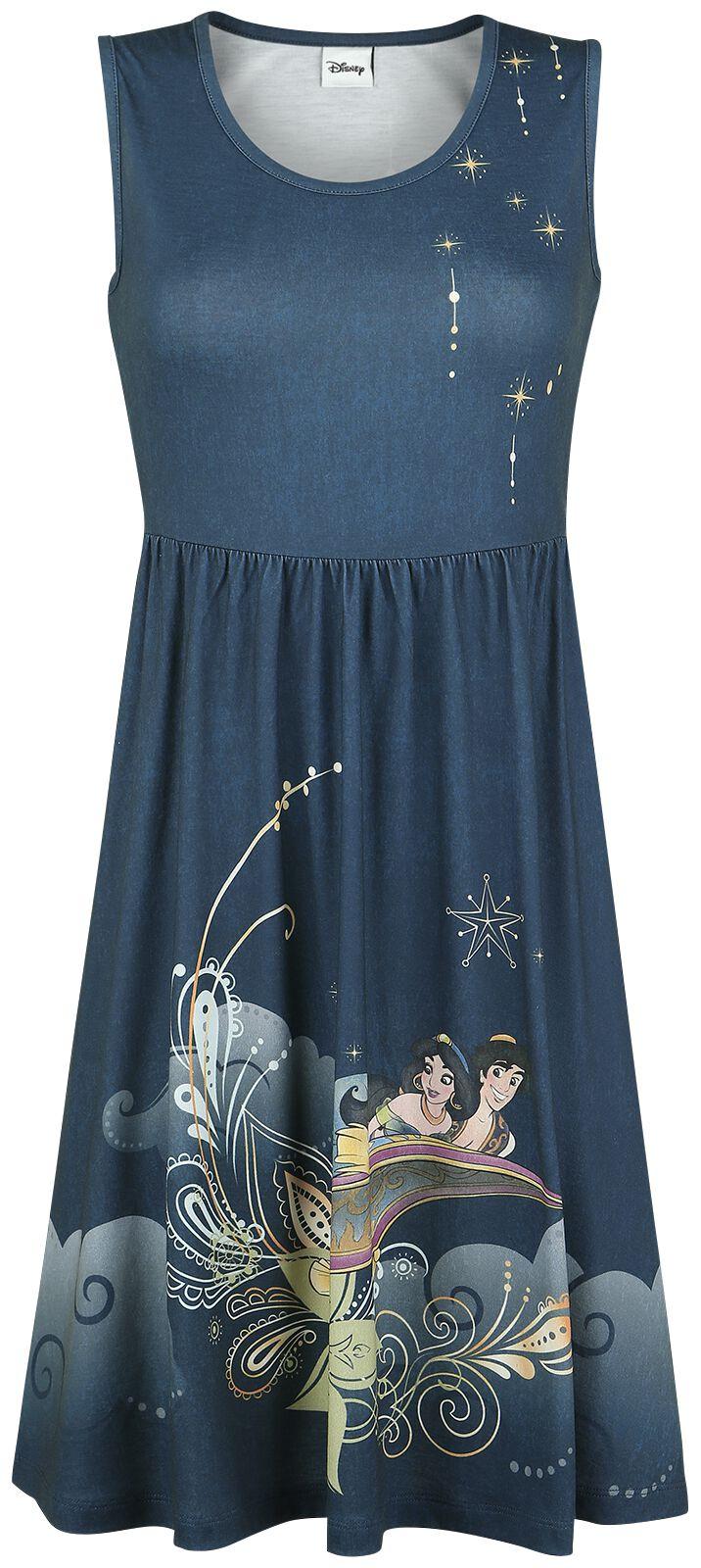Merch dla Fanów - Sukienki - Sukienka Aladyn Aladdin & Jasmin Flying Flowers Sukienka czarny - 351253