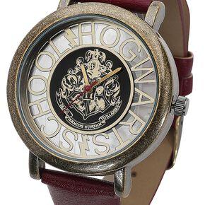 Harry Potter Poudlard Montre bracelet rouge/or