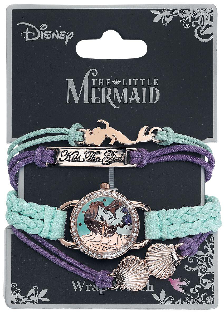 Uhren für Frauen - Arielle die Meerjungfrau Arielle Armbanduhr multicolor  - Onlineshop EMP