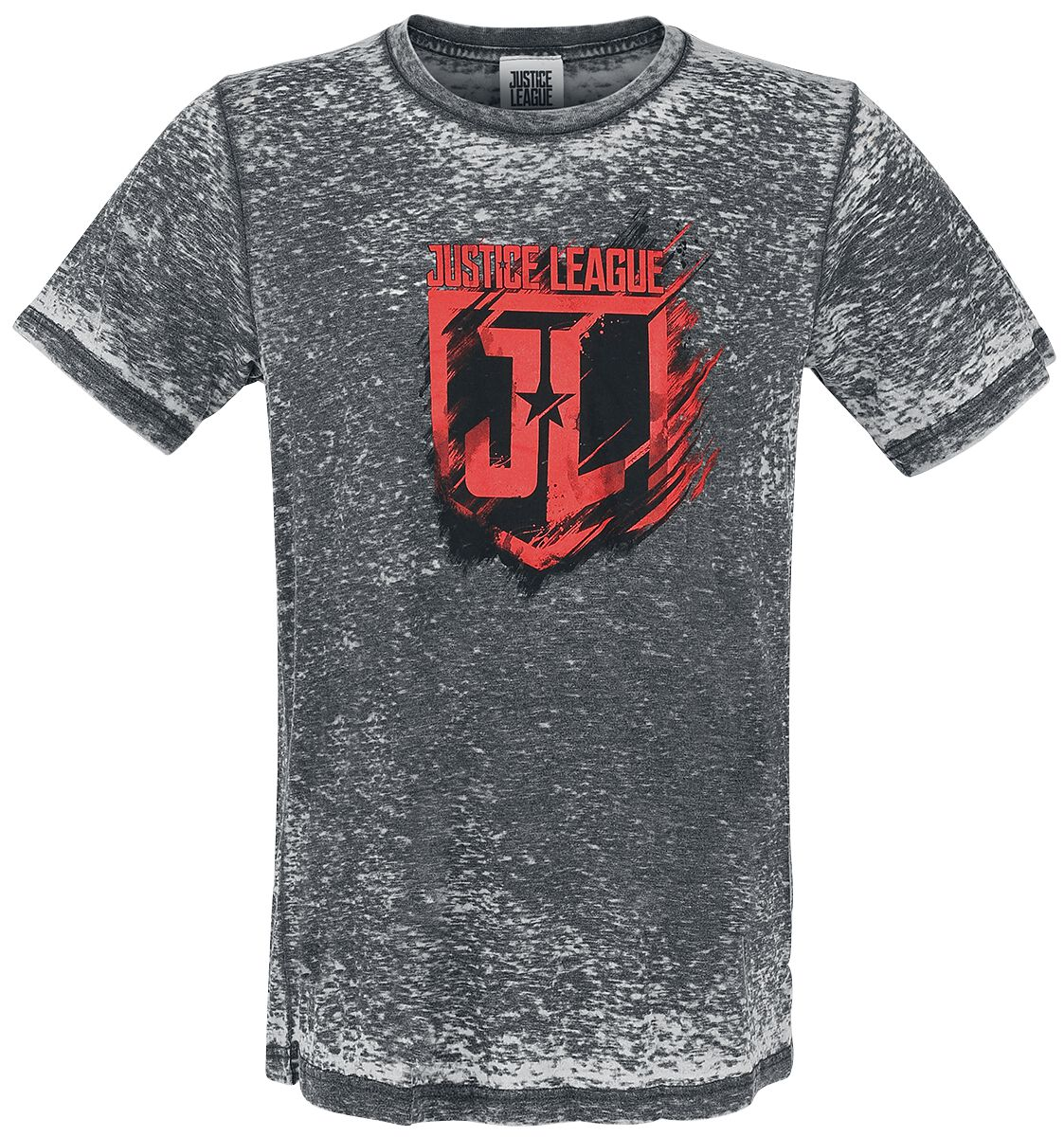 Image of   Justice League Shield T-Shirt grå