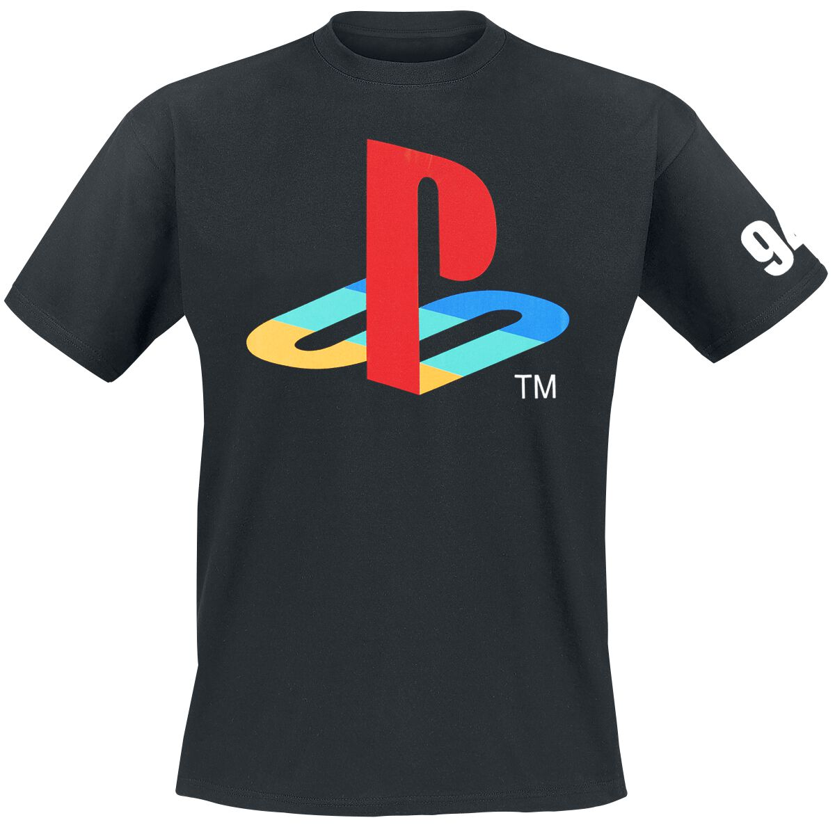 Image of   Playstation Classic Logo T-Shirt sort