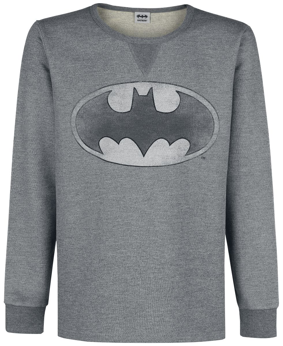Image of   Batman Logo Sweatshirt grålig