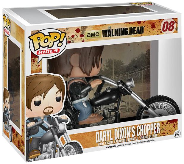 Image of   The Walking Dead Daryl Dixon's Chopper Vinyl Figure 08 Samlefigur Standard