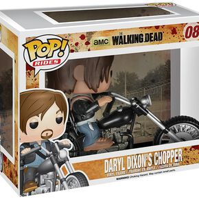 The Walking Dead Figurine En Vinyle Daryl Dixon's Moto 08 Figurine de collection Standard