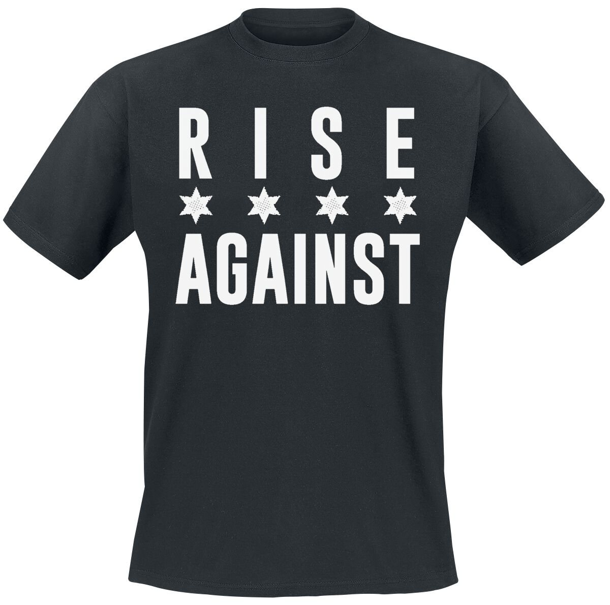 Rise Against Chicago White T-Shirt schwarz