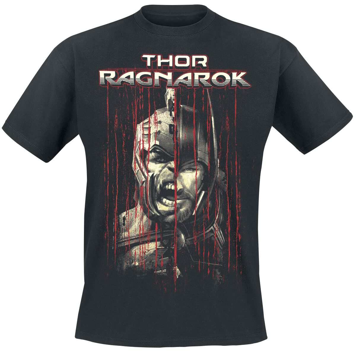 Image of   Thor Ragnarok - Bloodrain T-Shirt sort