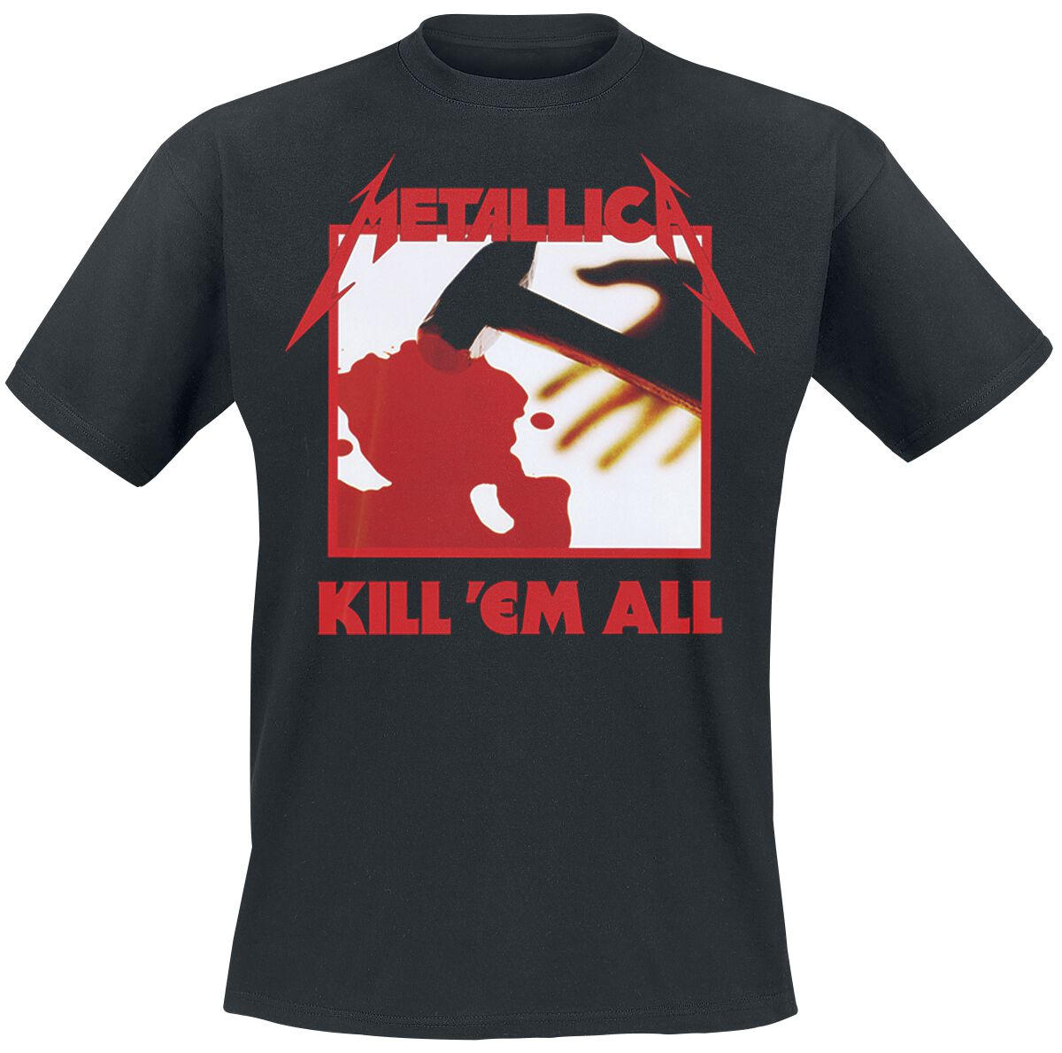 Image of   Metallica Kill 'Em All T-Shirt sort