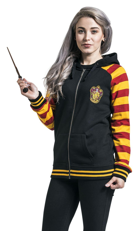 Image of   Harry Potter Gryffindor Girlie hættejakke multifarvet