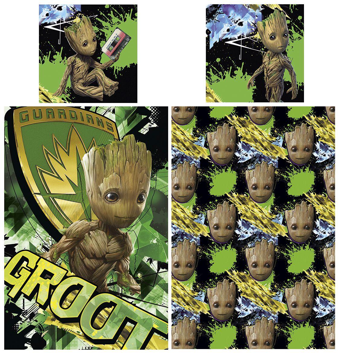 Image of   Guardians Of The Galaxy Groot Sengesæt Standard