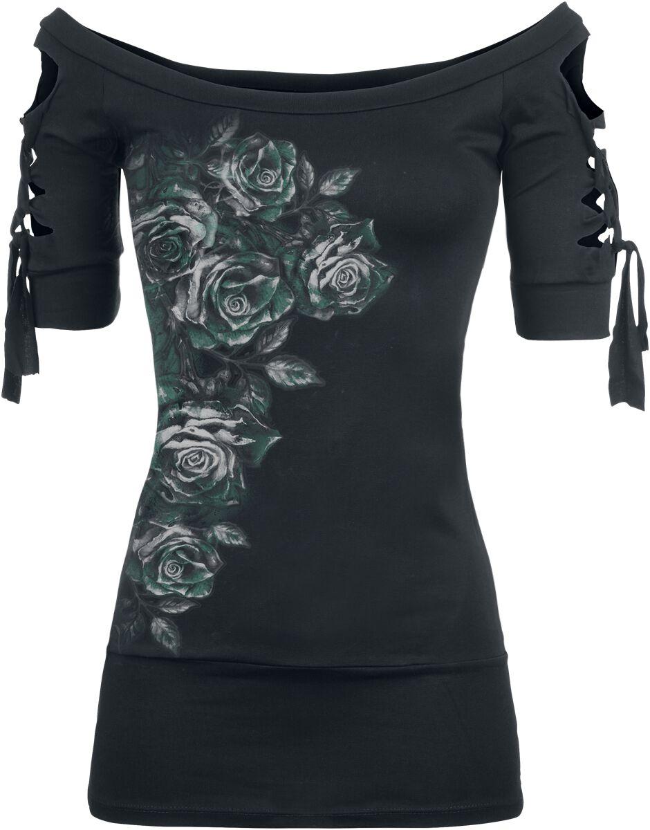 Image of   Alchemy England Dies Irae Girlie trøje sort-grøn