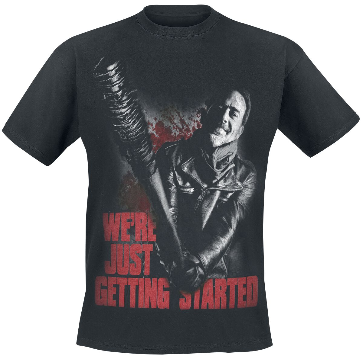 Image of   The Walking Dead Negan - Just Getting Started T-Shirt sort