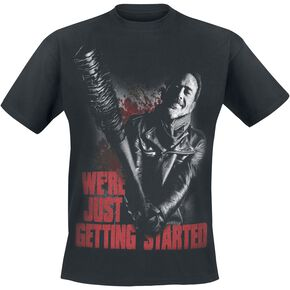 The Walking Dead Negan - Just Getting Started T-shirt noir