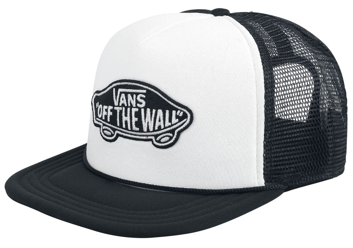 Image of   Vans Classic Patch Trucker Cap hvid-sort