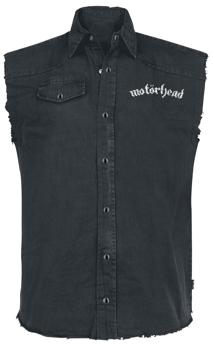 Motörhead England Sleeveless Workershirt schwarz