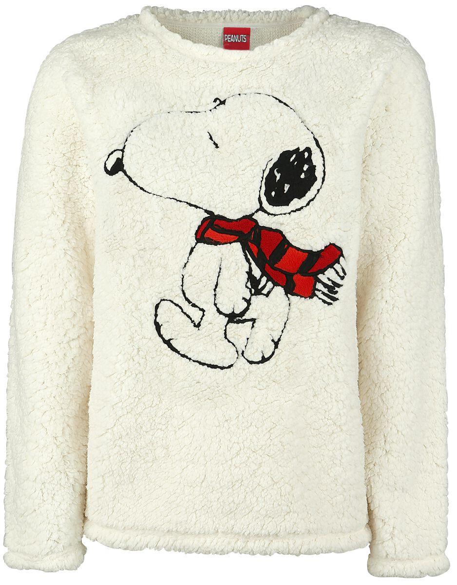 Merch dla Fanów - Bluzy - Bluza damska Fistaszki Snoopy Bluza damska biały (Old White) - 352065