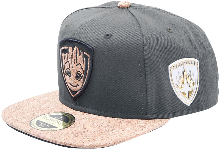 Image of   Guardians Of The Galaxy Vol.2 - Groot Snapback Cap olivengrøn
