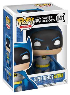 Image of   Batman Super Friends Batman Vinyl Figure 141 Samlefigur Standard