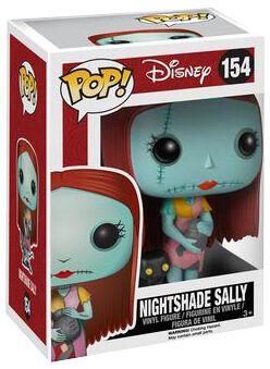Image of   The Nightmare Before Christmas Sally With Nighshade Vinyl Figure 154 Samlefigur Standard