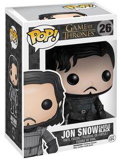 Image of   Game Of Thrones Castle Black Jon Snow Vinyl Figure 26 Samlefigur Standard